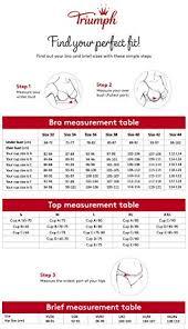 Bra Measurement Chart In India Triumph International International Doreen Non Padded Non Wired Super Support Bra