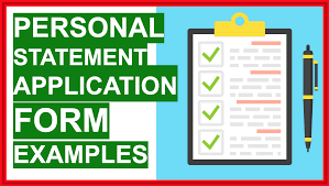 how to write a personal statement 5
