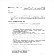 simple contract for services template simple contract agreement template templates free sample example