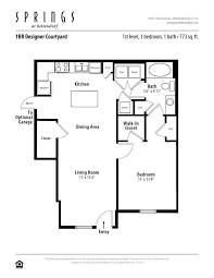 1 Bedroom, 1 Bath 773 Sf Apartment At Springs At Bettendorf In Bettendorf,  IA