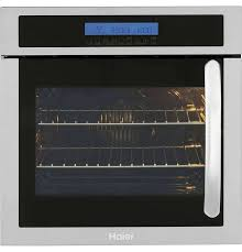 haier single electric wall oven 24 inch