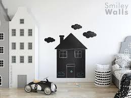 house chalkboard wall decal house