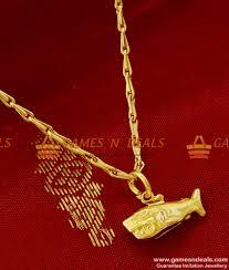 smdr83 gold plated shark fancy pendant design short chain imitation jewelry