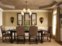 dining room paint colorsLightbrown dining room paint colors with classic furniture