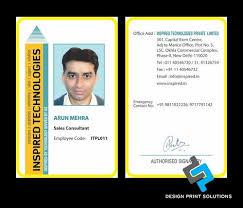 Print Design 4422466491 Identity Cards Service Rohini In Printing Id Solutions Delhi