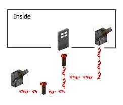 how to create a door lock minecraft guide tutorials and tips door lock circuit diagram