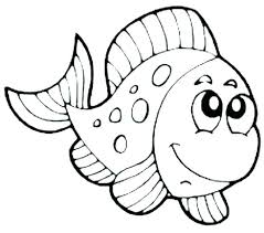 Fish Coloring Page Fish Coloring Sheet Plus Fish Coloring Image
