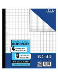 Wildcat Shop Ischolar Double Sided Graph Paper