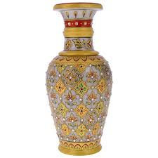 Small Picture Buy Marble Flower Vase for Home Decor from Rajkruti India ID