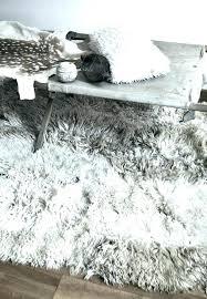 large grey faux fur rug amanitainfo fake fur rugs faux fur area rug ikea