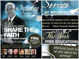 Free Church Flyer Templates Photoshop Free Christian Poster Templates