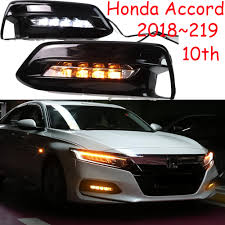 2018 Accord Fog Light Kit Us 52 25 5 Off Car Styling For Accord Daytime Light 2018 2019year Led Drl Front Light Accord Fog Lamp Car Accessories Brio Br V Urv Hrv In Car Light