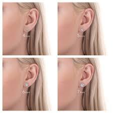 Mm Earring Chart 16 True To Life Stud Earring Sizes Chart