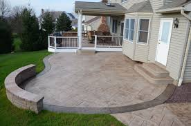 stamped concrete patio with fire pit cost. Fire Pit Cost Inspirational Stamp Concrete Patios Stamped Patio With A
