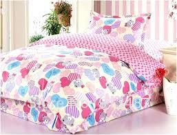 kids twin bed sheets girl twin bedding sets cute bear and heart motif girls twin bedding