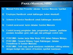 Hr Template-Hrd Policy And Procedures - Pro Niaga Store On Mudah.my