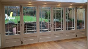 solid wood bifold doors by enfield windows of enfield north london made to measure double glazed wooden bi folding doors