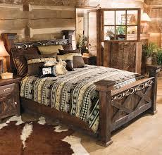 barn wood bedroom furniture. antler \u0026 barnwood bed - full barn wood bedroom furniture