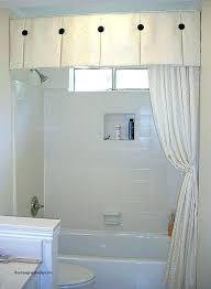 bathroom window trim ideas shower window ideas curtains for little windows awesome best shower curtain valances bathroom window trim ideas