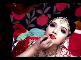 indian bridal makeup tutorial with steps pictures 11
