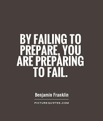 Preparation Quotes Amazing By Failing To Prepare You Are Preparing To Fail Picture Quotes
