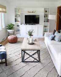 Living Room Budget This 25 Year Old Completely Transformed Her Living Room On A