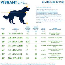 Dog Crate Size Chart