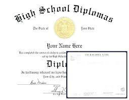 Free Homeschool Diploma Template Real Fake Diploma Templates High School College Free Hs Template