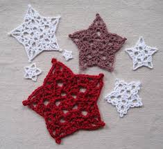 Crochet 5 Point Star Pattern Custom Decorating