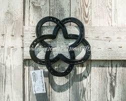 horseshoe celtic knot flower celtic