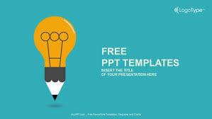 free powerpoint templates for teachers education symbol bulb powerpoint templates