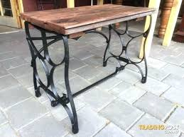 antique sewing machine table drawers diy ideas base kitchen awesome coffee l cas