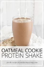 oatmeal cookie protein shake jennifer