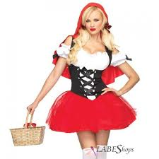 y red riding hood womens costume