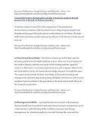 Business Analyst Modern Resume Template Resume Samples For Business Analyst Entry Level Modern