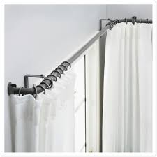 Curtain Rod Alternatives Traverse Curtain Rods Lowes