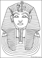 Art Coloring Pages Egyptian Artists