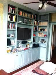 built in corner shelves image 1 diy built in corner bookshelves