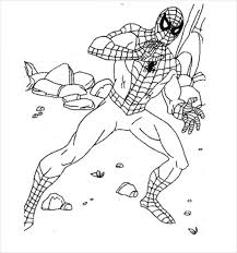 Spiderman coloring pages for free. 19 Spider Man Coloring Pages Pdf Psd Free Premium Templates