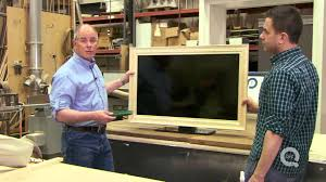 Framing A Tv How To Frame Your Flat Screen Tv Youtube