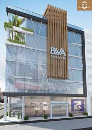 office building facade. Retail Architecture, Commercial Modern Building Elevation, Facade, Small Buildings, Office Mall Facade L