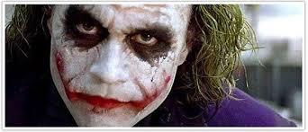 the joker as seen in the dark knight