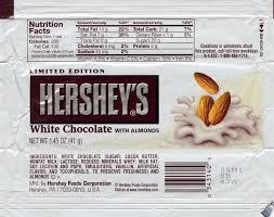 hershey white chocolate. Unique Chocolate Hershey White Chocolate With Almonds Throughout U