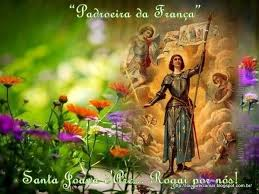 Resultado de imagem para Dia de Santa Joana d'Arc