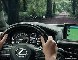 lx luxury suv technology com the available full color heads up display can project key information about your audio speed current gear and rpm onto the windshield