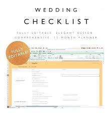 Wedding Excel Checklist Wedding Checklist Excel Spreadsheet Image 0 Wedding Planning