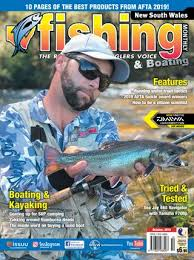 Dogtooth Lake Depth Chart New South Wales Fishing Monthly October 2019 By Fishing