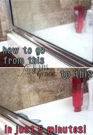 astonishing what to clean glass shower doors with how to clean glass shower doors with vinegar and dawn how to clean glass shower doors with hard water