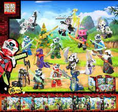 COMBO 16 Minifigures Các Mẫu Nhân Vật Ninjago Season 12 Cùng Trang Bị Vũ  Khí Đầy