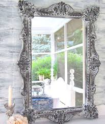 decorative vintage mirrors for sale gray blue mirror 28x22 shabby chic nursery french country wall mirror antique dresser framed leaning mirror shabby chic